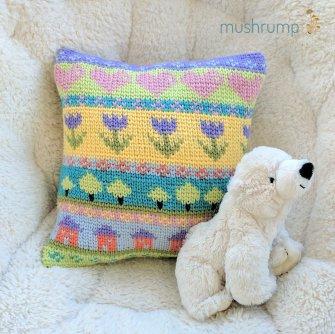 cheery pillow