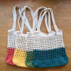 Color Block Market bag all colors