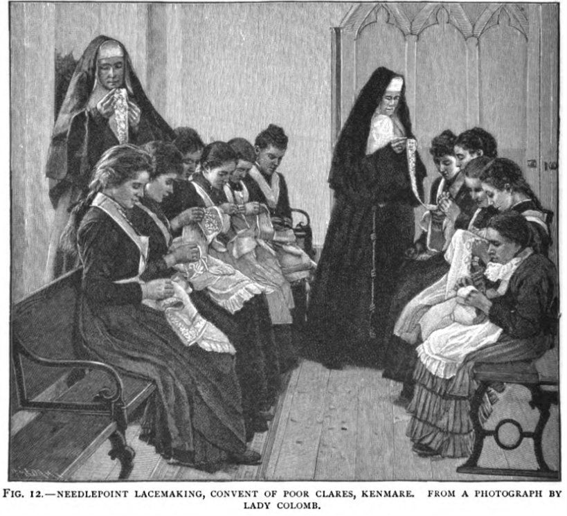 crocheting in convent